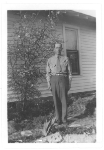 Grandpa B was stationed in Texas during WWII.