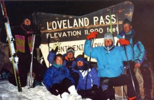 One of my favorite memories of my Colorado winter was skiing Loveland Pass during a full moon.