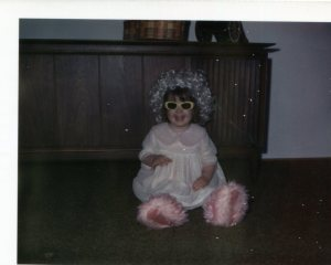 Playing around on Easter Sunday 1970