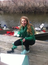 Coxswain Nikki has embraced ROW and rowing and has become such an asset to the team!