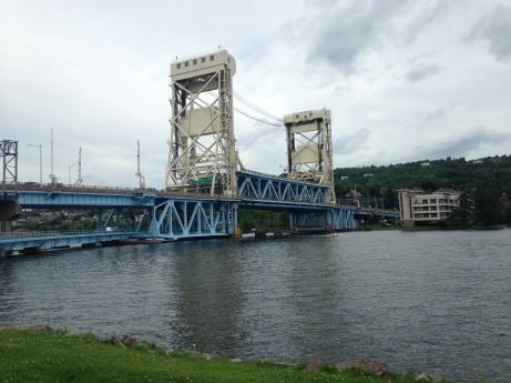 The Houghton-Hancock Bridge